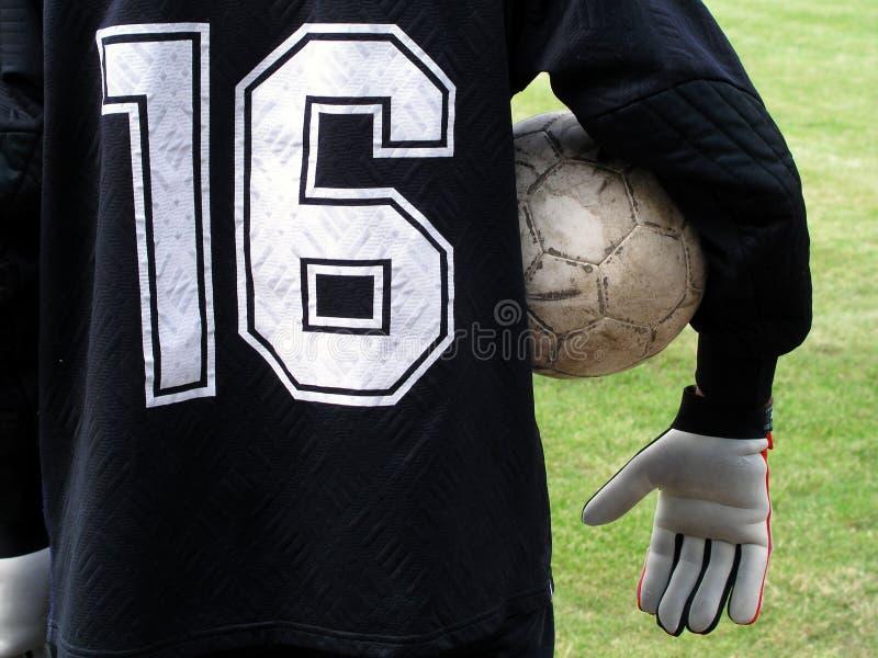 футбол игрока стоковые изображения rf