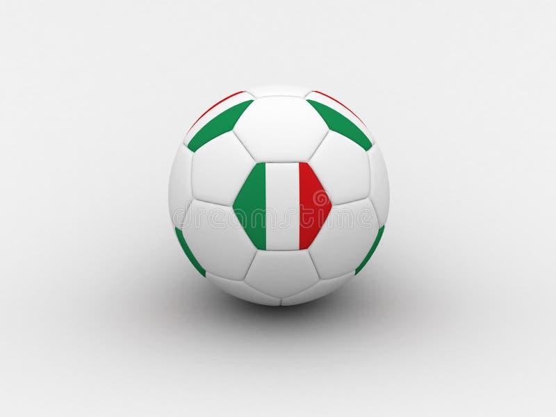 футбол Италии шарика бесплатная иллюстрация