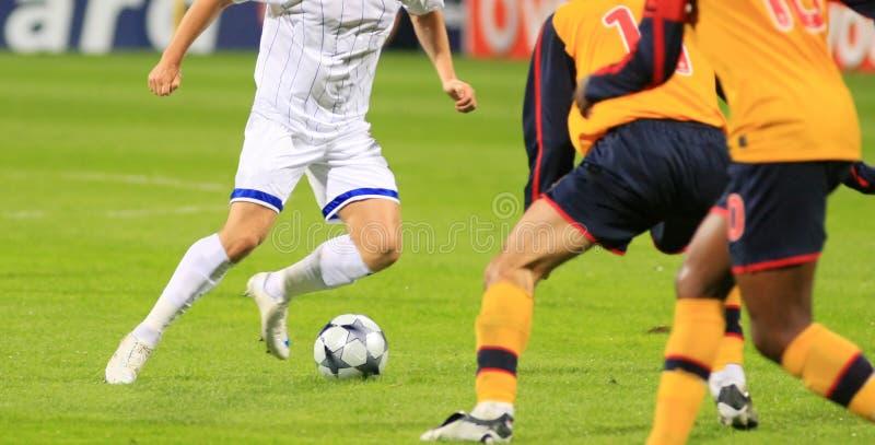 футбол спички стоковое изображение