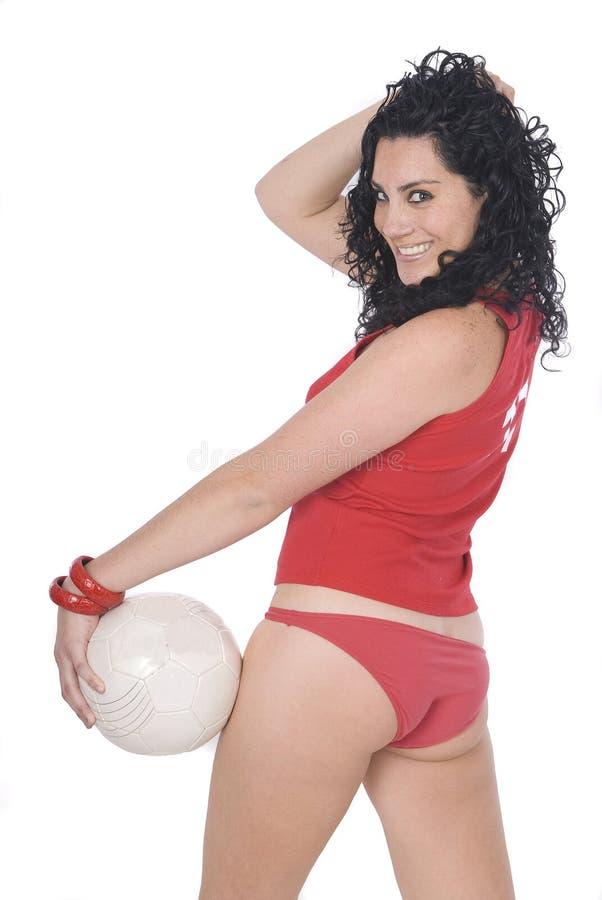 футбол судья-рефери футболиста кареты сексуальный стоковое фото
