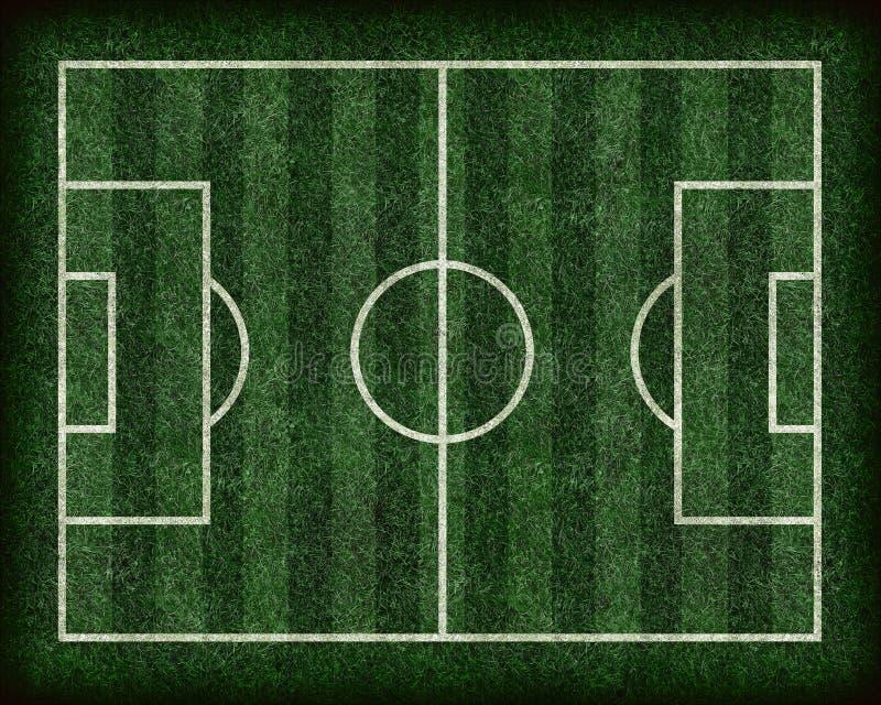 футбол футбола поля иллюстрация штока