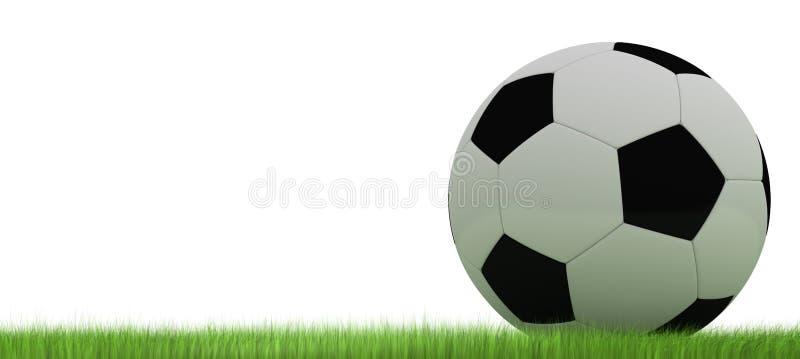 футбол футбола шарика иллюстрация вектора