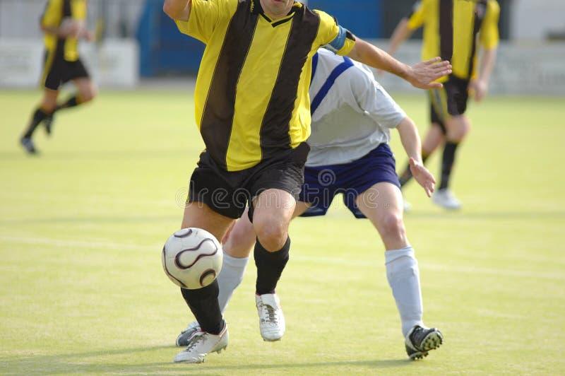 футбол футболиста стоковая фотография