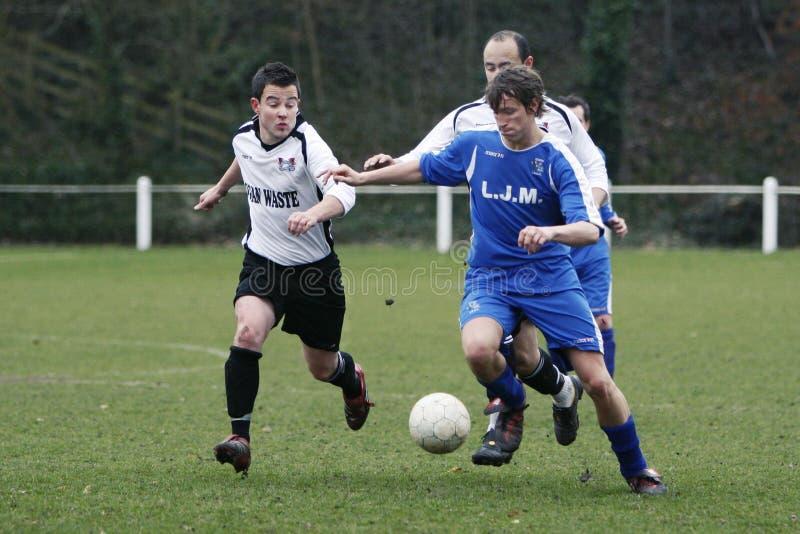 футбол футболиста стоковые изображения
