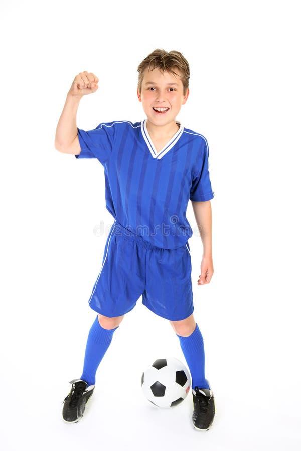 футбол чемпиона стоковая фотография