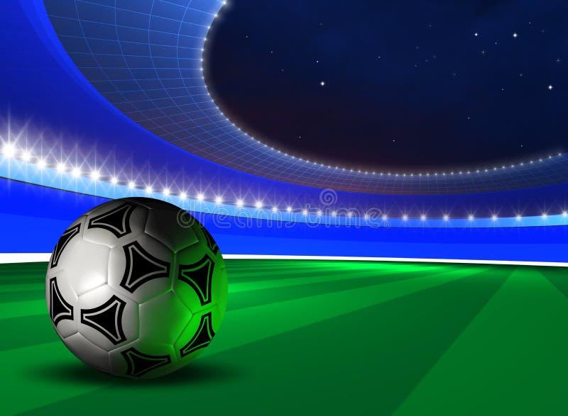 футбол шарика предпосылки бесплатная иллюстрация