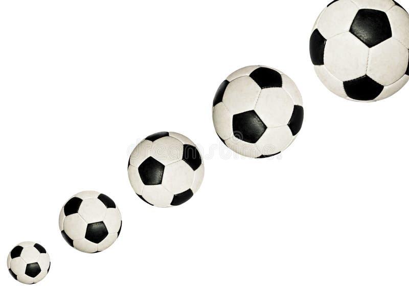 футбол шариков стоковые изображения