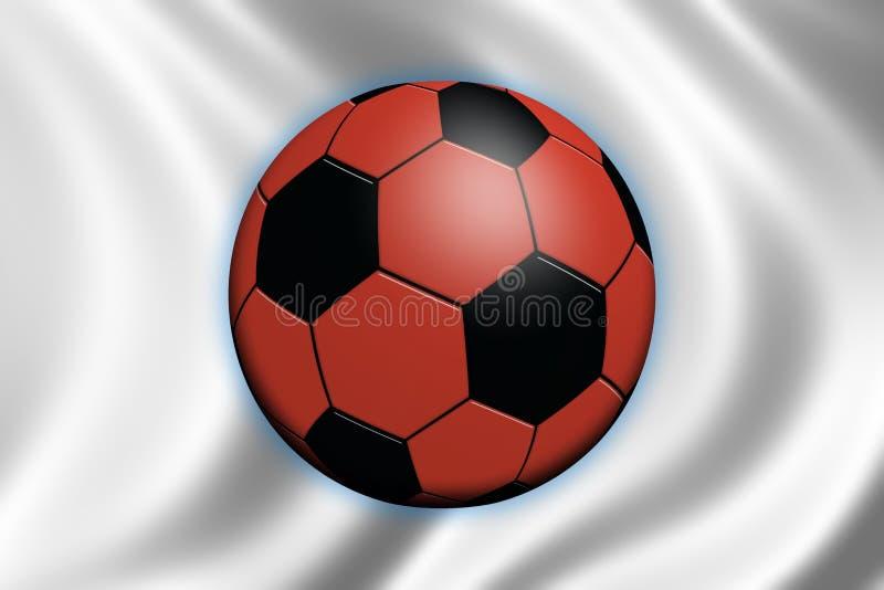 футбол японии иллюстрация штока