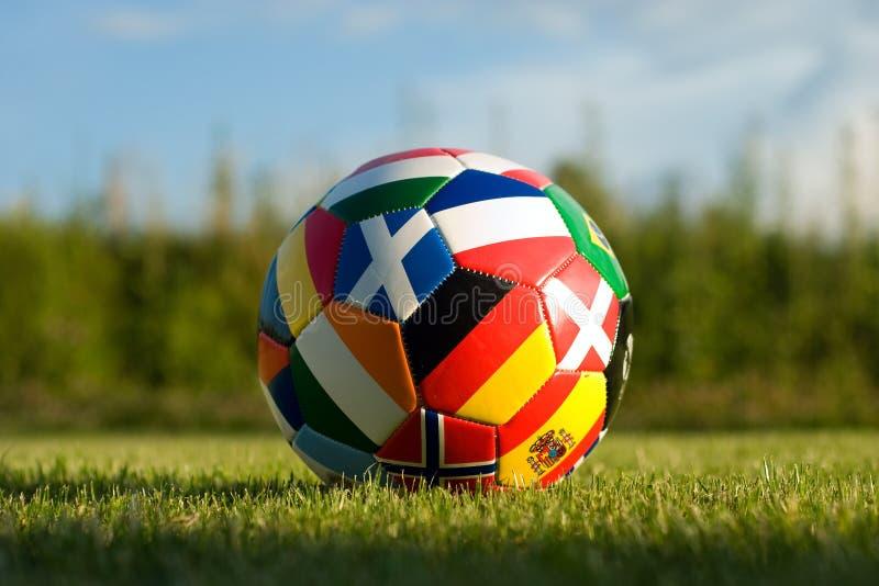 футбол bal стоковые изображения rf