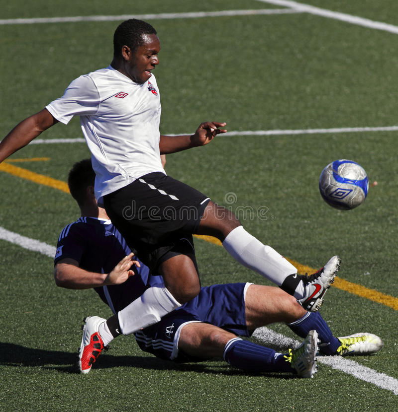 футбол keishon Канады alcindor стоковое фото rf
