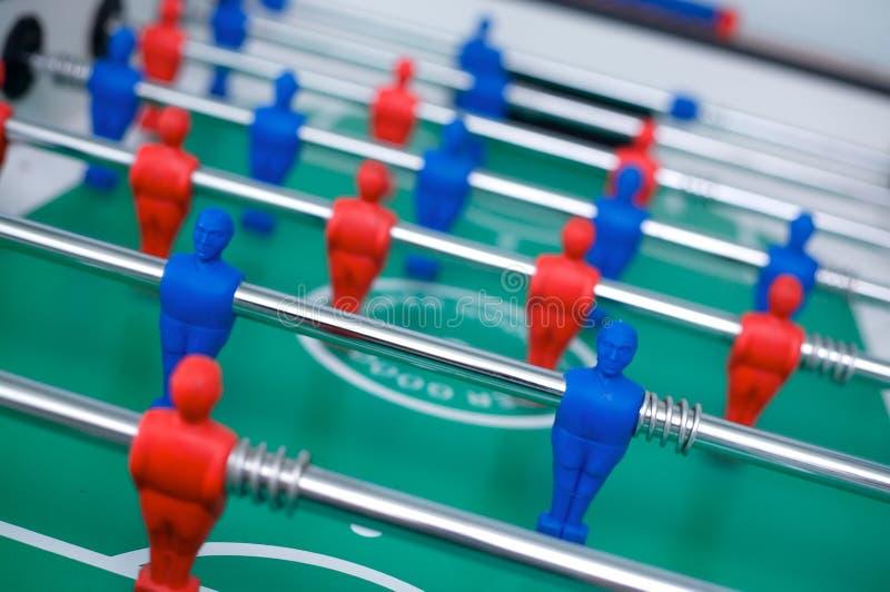Футбол Tabletop стоковые изображения rf