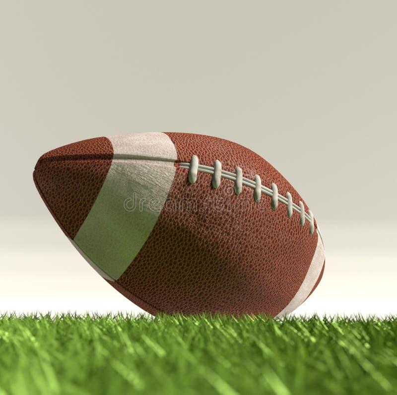 футбол американского шарика стоковые изображения