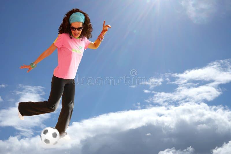 Download Футбол Бразилия футбола стоковое фото. изображение насчитывающей лучи - 40585322