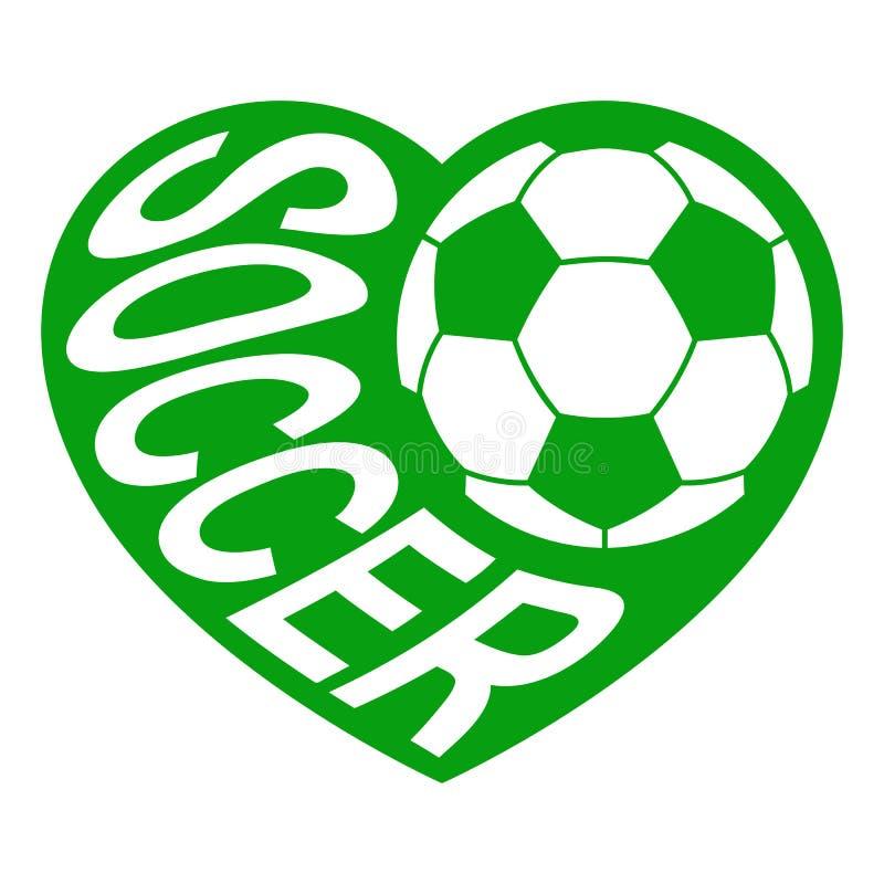 Футбол в сердце 1 бесплатная иллюстрация
