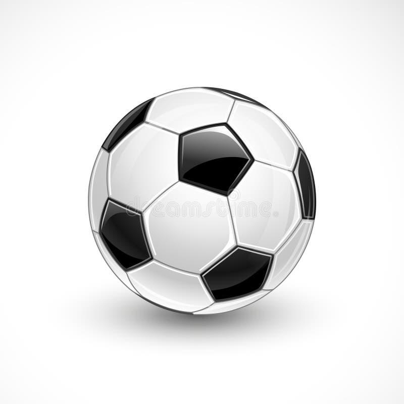 футбол горящего стекла шарика aqua
