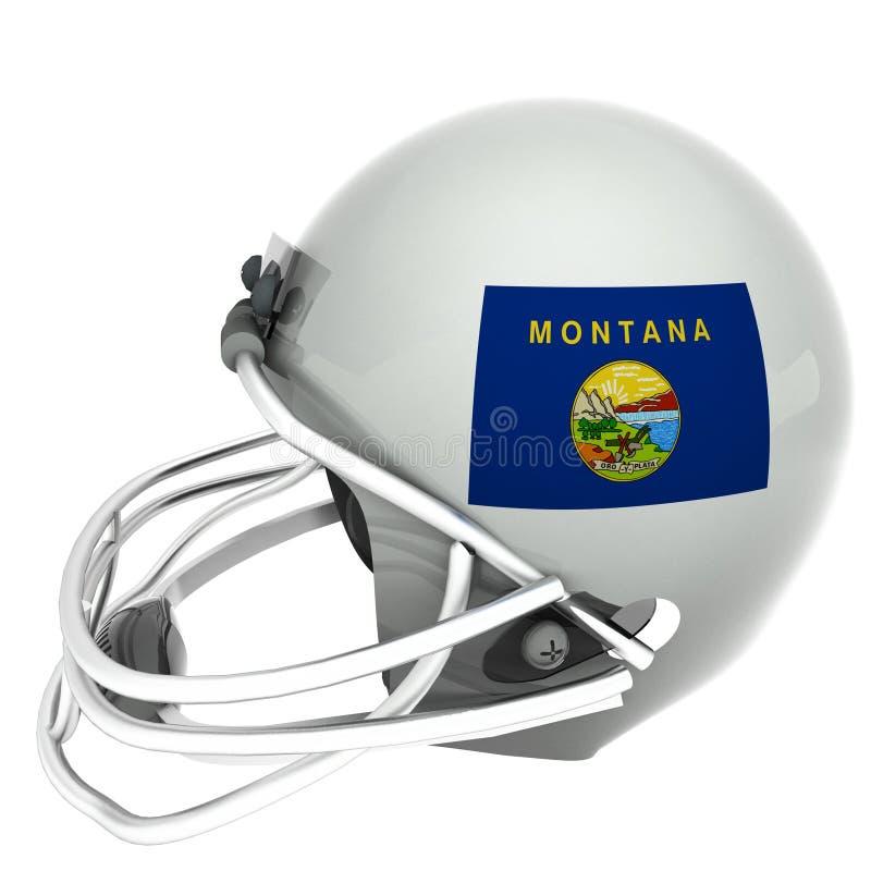 Футбол Монтаны иллюстрация вектора
