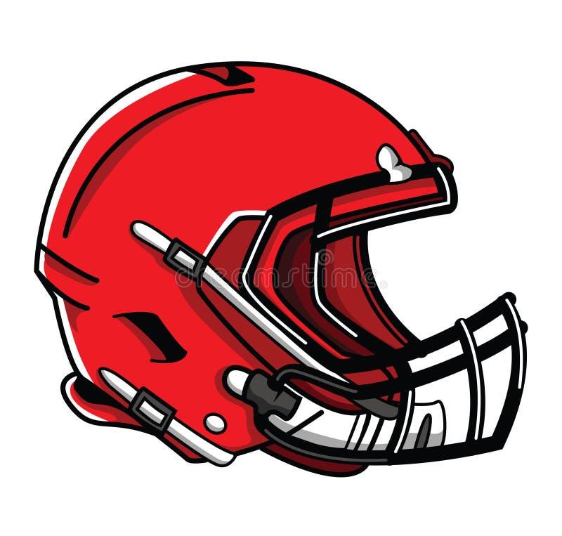 Футбол шлема бесплатная иллюстрация