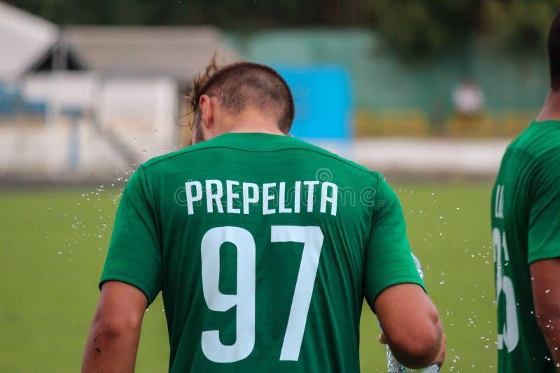 футбольная игра футбол Молдавская лига профессионального футбола стоковые изображения rf