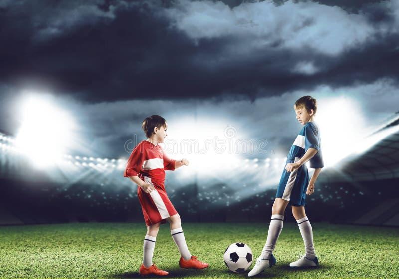 футбольная игра стоковое изображение