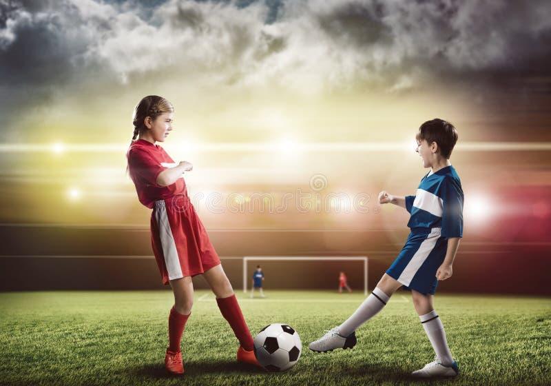 футбольная игра стоковое фото rf