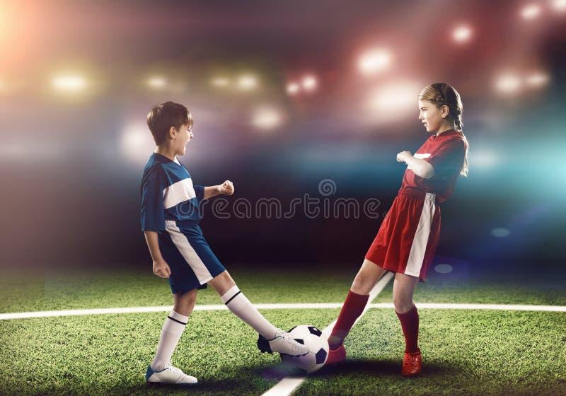 футбольная игра стоковая фотография