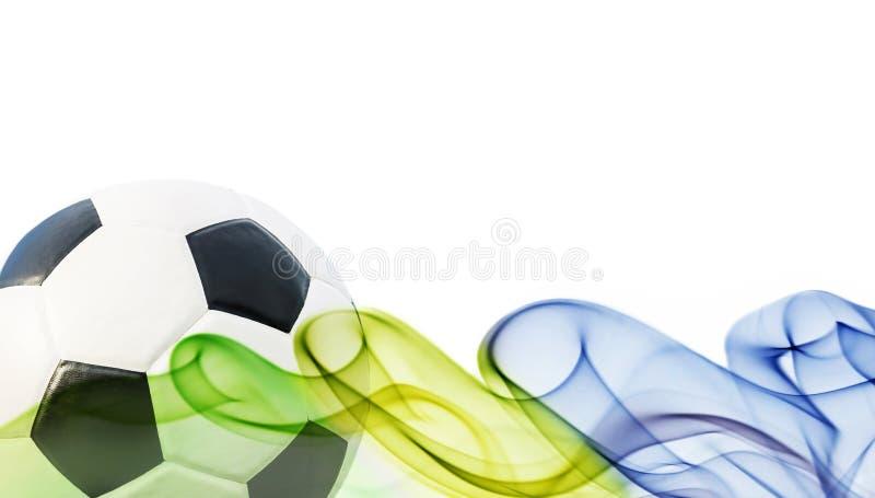 Футбольный мяч Бразилии 2014 стоковые изображения rf