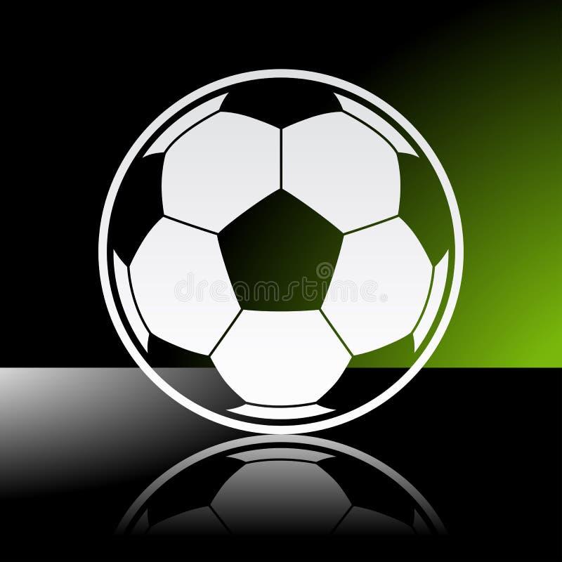 Футбольный мяч футбола бесплатная иллюстрация