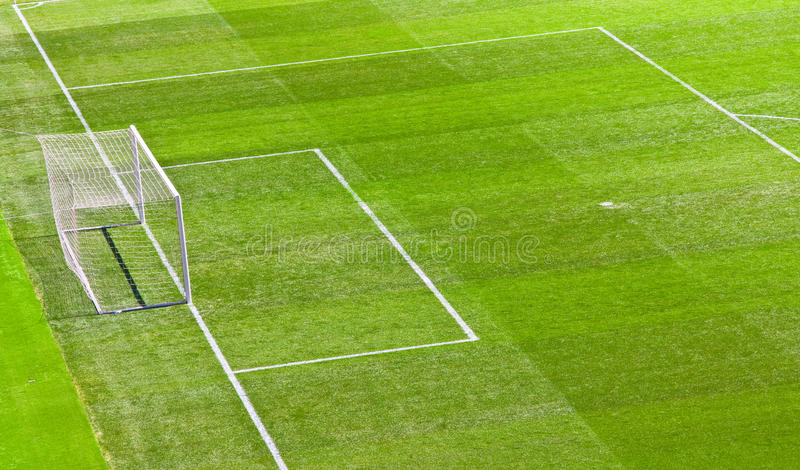 Футбольный стадион в Барселоне, Испании стоковое изображение rf