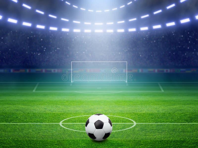 Футбольный стадион стоковое фото