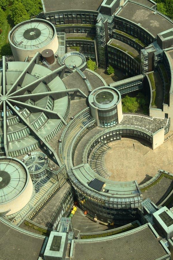 футуристическая крыша стоковая фотография rf