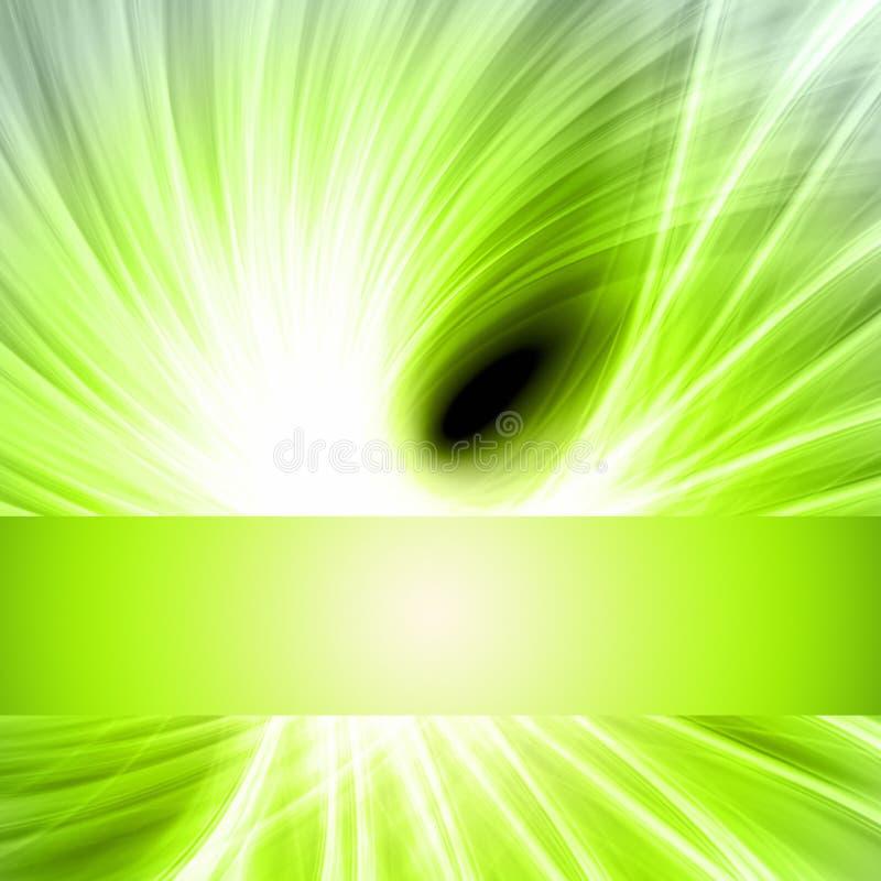 Футуристический дизайн волны eco с светом иллюстрация штока