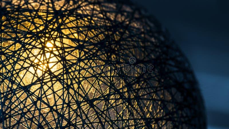 Футуристический мир предусматриванный потоками технологии и связи стоковая фотография rf