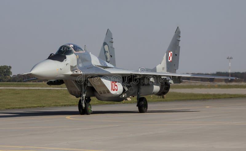 Фулкрум Mikoyan MiG-29 стоковые изображения rf