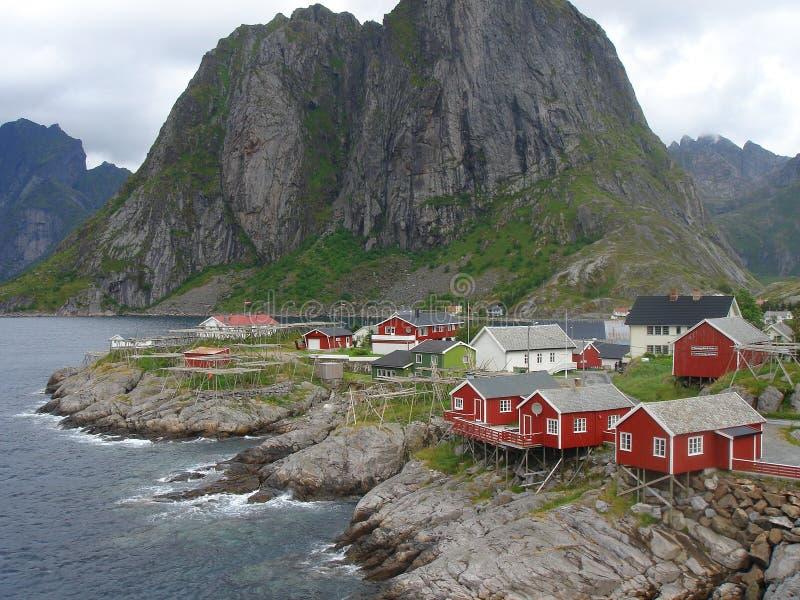 фьорды норвежские стоковое изображение