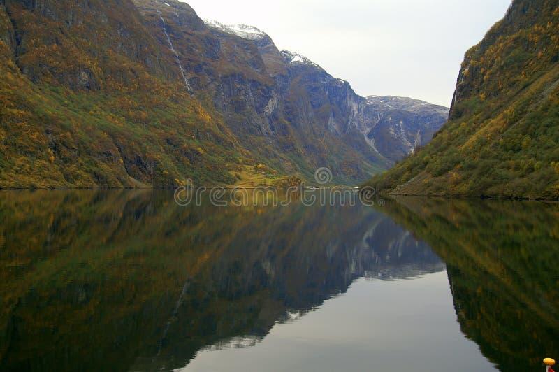 фьорд Норвегия стоковые фото