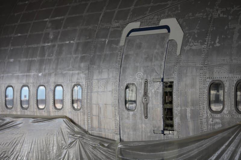 Фюзеляж Боинга 747 стоковая фотография rf