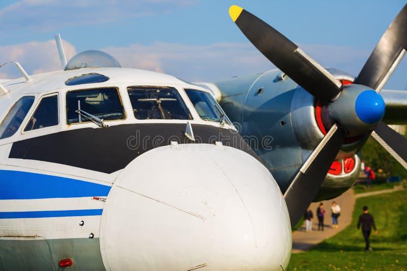 Фюзеляж старого воздушного судна стоковые изображения