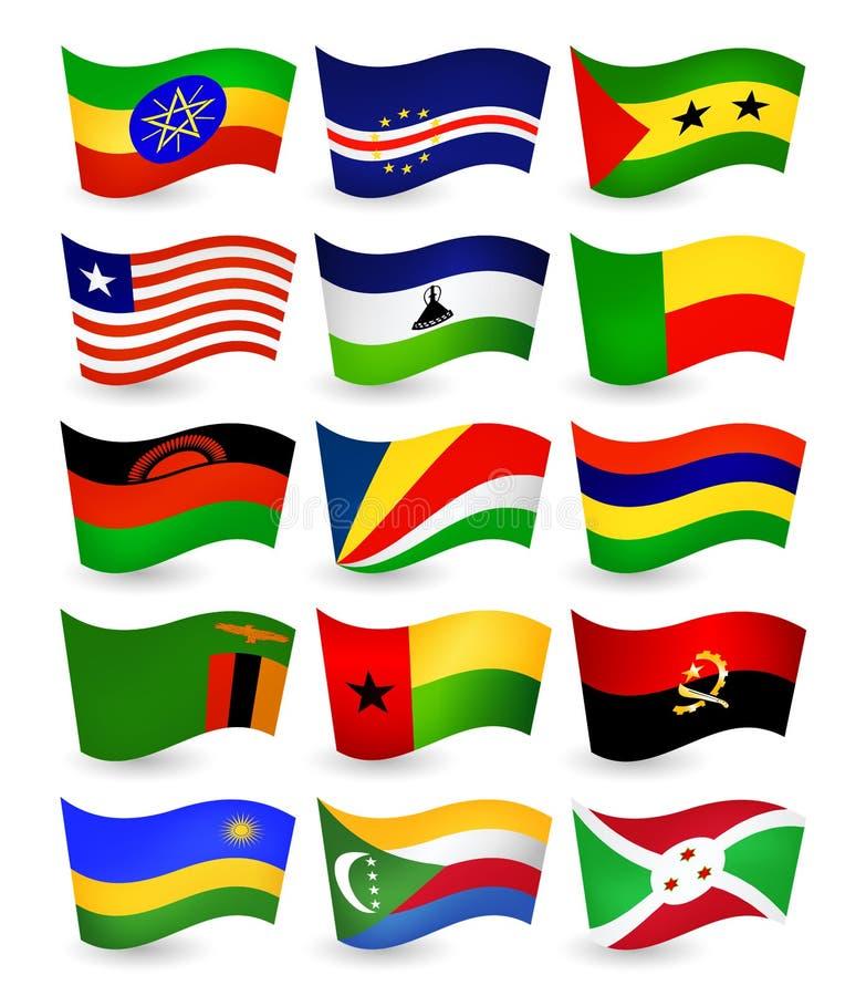 частная флаги стран африки в картинках с названиями страны фактура