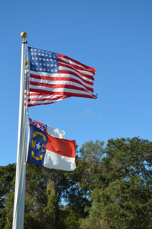 Флаги летая стоковое фото rf