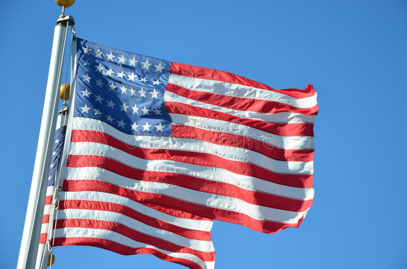 флаги 2 стоковое изображение rf