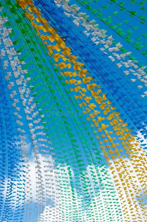 Флаги St. John стоковое фото rf