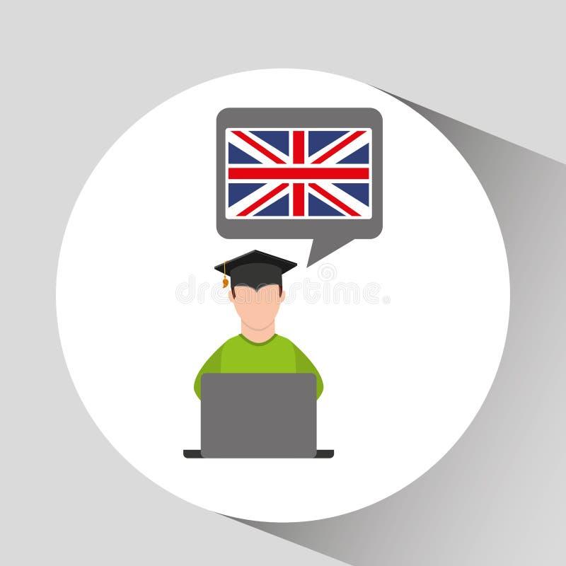 Флаг Англия образования градации характера онлайн бесплатная иллюстрация
