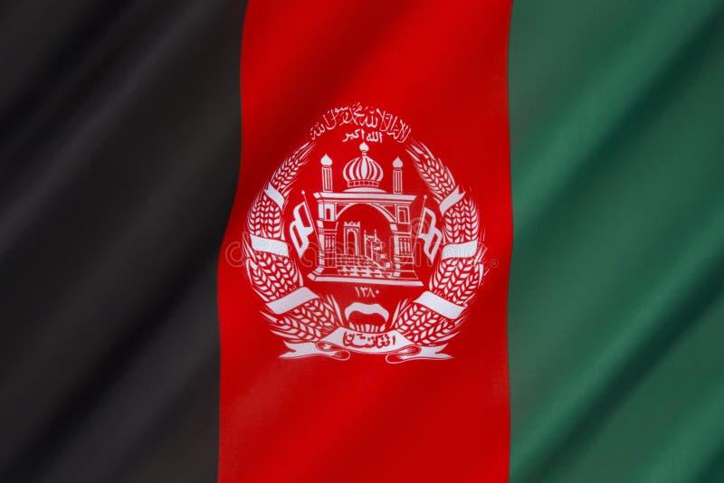 флаг Афганистана стоковое фото