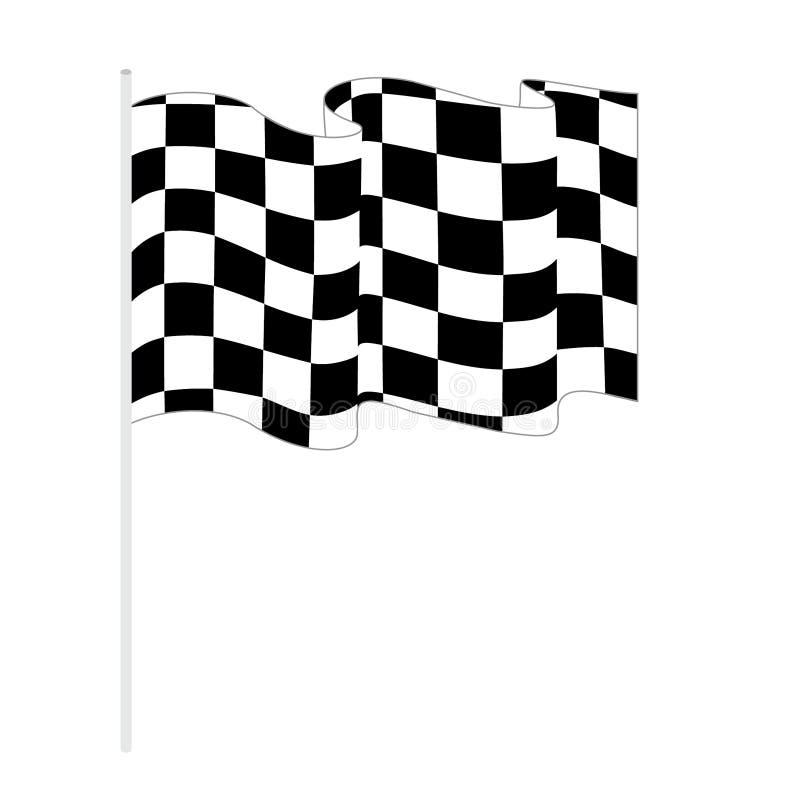 Флаг вектора иллюстрация штока