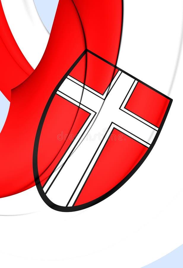 Флаг вены, Австрии бесплатная иллюстрация