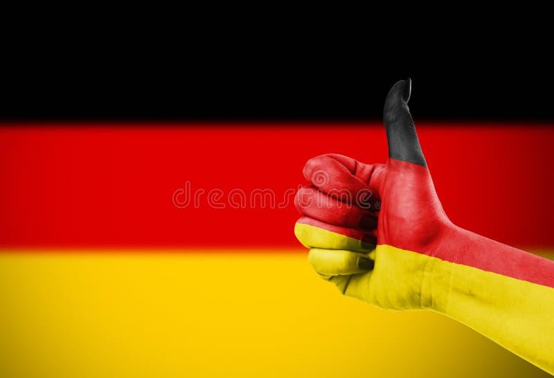 флаг Германия стоковая фотография rf