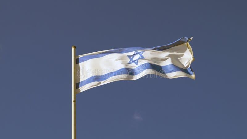 Флаг государства Израиля стоковые фотографии rf