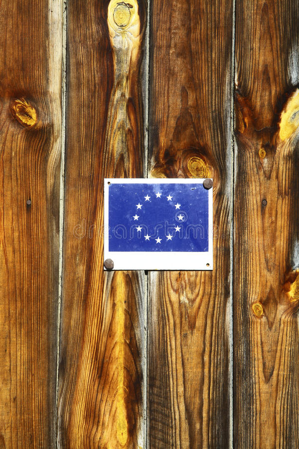 Флаг Европейского союза стоковое фото rf