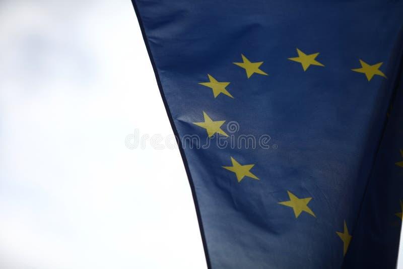Флаг Европейского союза стоковая фотография rf