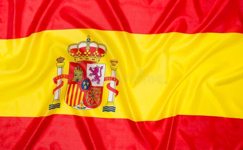 флаг Испания стоковые изображения